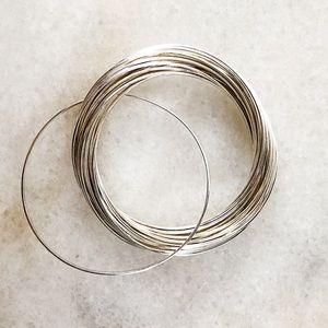 Silpada 21 Bangle Salute Sterling Silver Bracelets